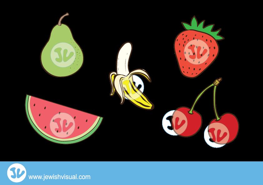 Fruit Clipart – איורים של פירות