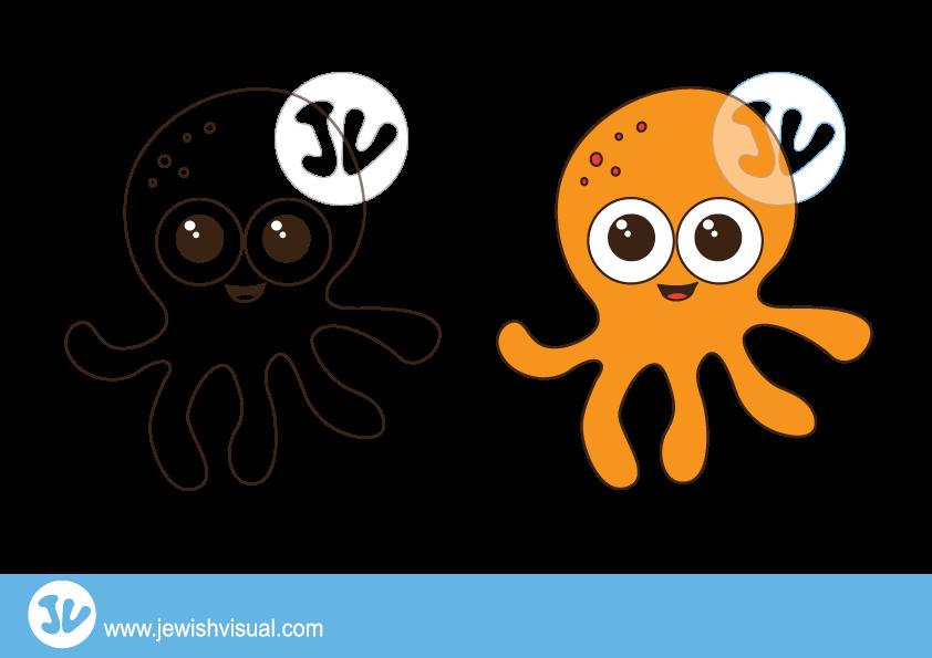 Octopus Clipart – תמנון