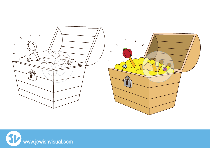 Treasure Chest clipart – תיבת אוצרות