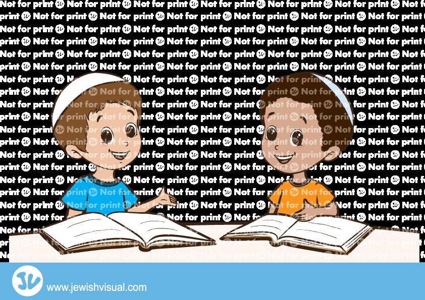 Children learning torah – ילדים לומדים תורה