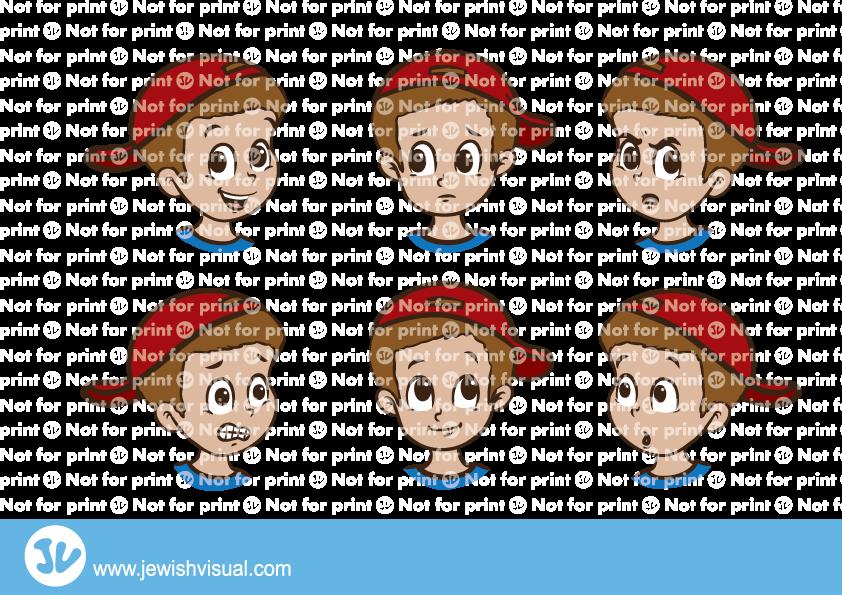 Boy facial expressions – הבעות פנים ילד