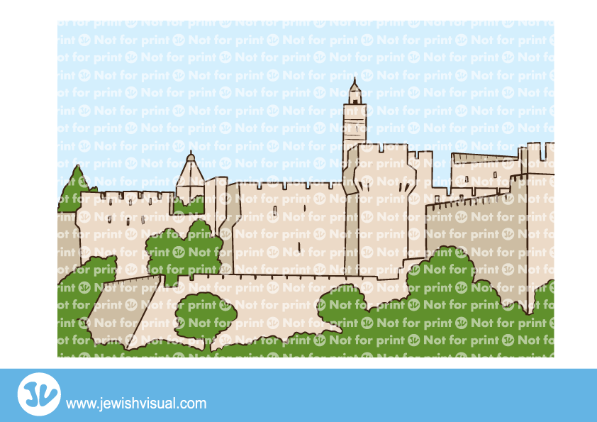 The tower of David – מגדל דוד