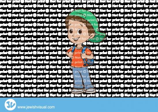 ילד עם תיק