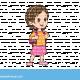 ילדה עם תיק